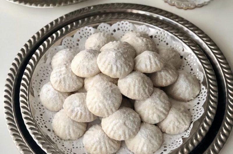 Marokkaanse amandel-sesamzaad koekjes
