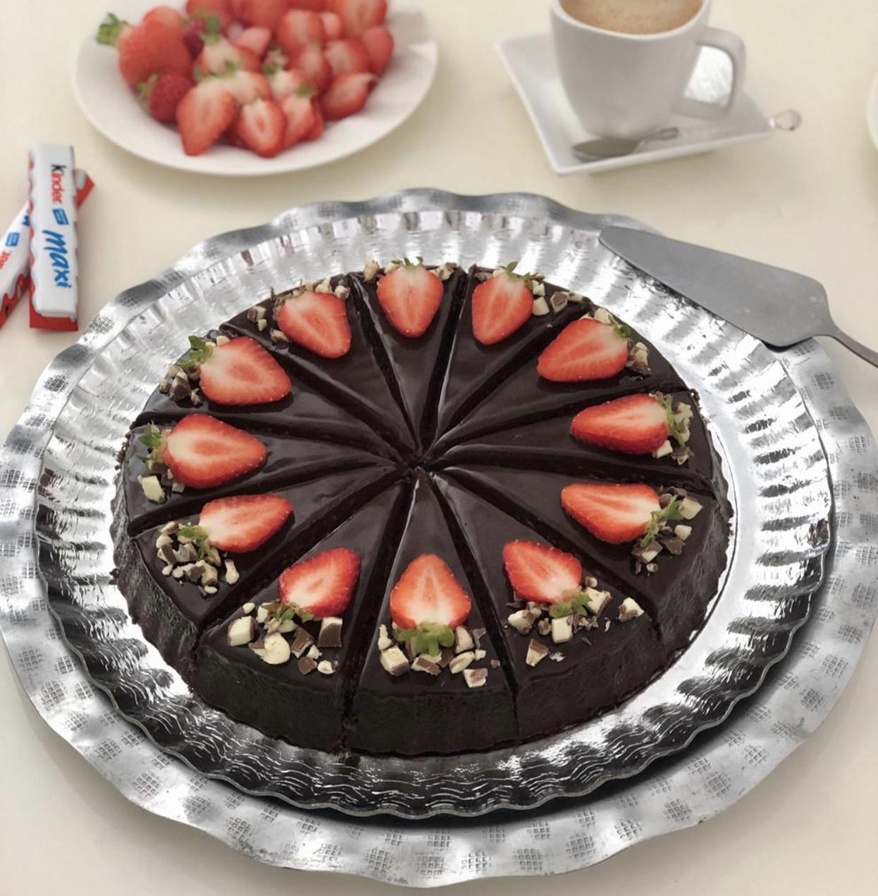 Chocoladecake met een smeuïge kokosvulling